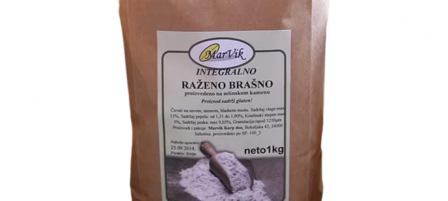 Integralno raženo brašno